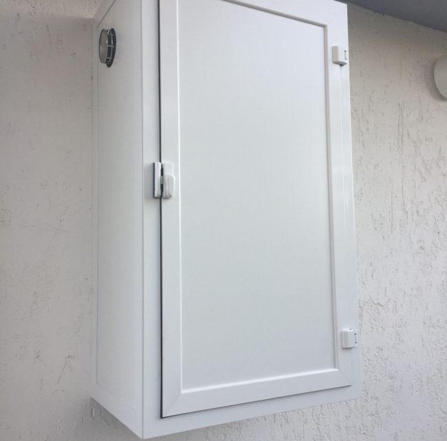 copricaldaia da esterno in alluminio infissi romanelli
